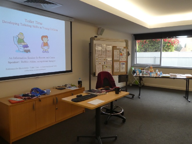 Parent information session at Gowrie SA Children's Centre