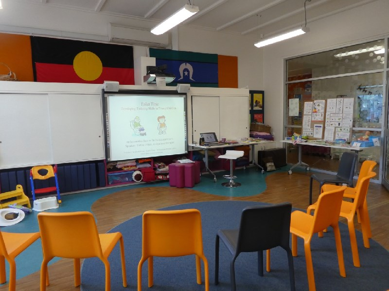 Parent workshop at The Avenues College Children's Centre, Adelaide